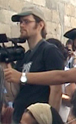 Brad with his camera